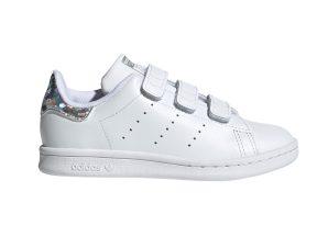 adidas Originals – STAN SMITH CF C – FTWWHT/FTWWHT/CBLACK