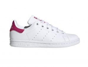 adidas Originals – STAN SMITH J – FTWWHT/FTWWHT/BOPINK