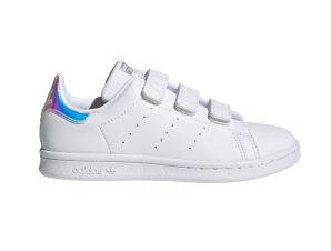 adidas Originals – STAN SMITH CF C – FTWWHT/FTWWHT/SILVMT