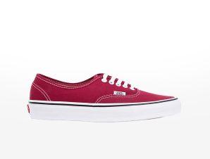 Vans – UA AUTHENTIC – RUMBA RED/TRUE WHITE