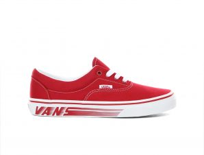 Vans – JN ERA – (RACERS EDGE) CHILI PEPPER/TRUE WHITE