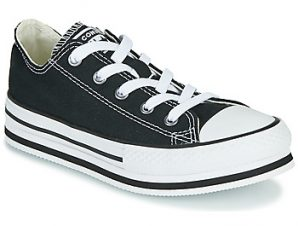 Xαμηλά Sneakers Converse CHUCK TAYLOR ALL STAR EVA LIFT EVERYDAY EASE OX ΣΤΕΛΕΧΟΣ: Ύφασμα & ΕΠΕΝΔΥΣΗ: Ύφασμα & ΕΣ. ΣΟΛΑ: Ύφασμα & ΕΞ. ΣΟΛΑ: Καουτσούκ