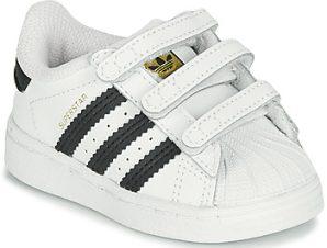 Xαμηλά Sneakers adidas SUPERSTAR CF I ΣΤΕΛΕΧΟΣ: Δέρμα & ΕΠΕΝΔΥΣΗ: Συνθετικό & ΕΣ. ΣΟΛΑ: Συνθετικό & ΕΞ. ΣΟΛΑ: Καουτσούκ