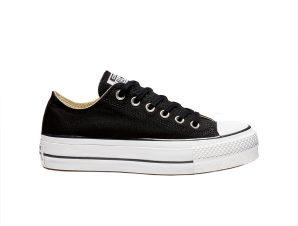 Converse – CHUCK TAYLOR ALL STAR LIFT – 001-BLACK/WHITE/WHITE