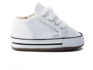 Converse – CHUCK TAYLOR ALL STAR CRIBSTER CANVAS COLOR – 102-WHITE/ NATURAL IVORY/WHITE