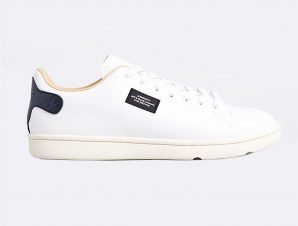 """Superdry ανδρικά sneakers """"Vintage Tennis Trainers"""" – MF110047A – Μαύρο"""