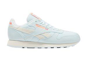 "Reebok ανδρικά αθλητικά παπούτσια ""Classic Leather"" – FY7545 – Ανοιχτό Γαλάζιο"
