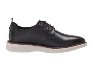 "Clarks ανδρικά δερμάτινα παπούτσια με κορδόνια ""Brantin Low"" – 26155734 – Μαύρο"