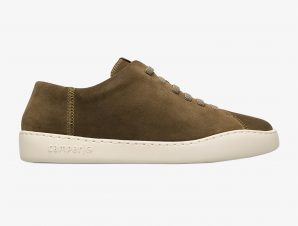 """Camper ανδρικά suede sneakers """"Peu Touring"""" – K100479-013 – Χακί"""