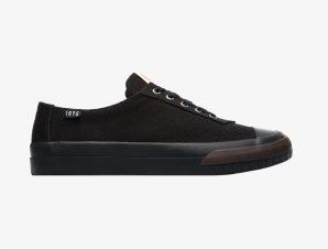 "Camper ανδρικά ρουστίκ sneakers ""Camaleon"" – K100674-002 – Μαύρο"