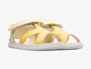 "Camper βρεφικά παπούτσια με αστερία ""Twins"" – K800444-002 – Κίτρινο"