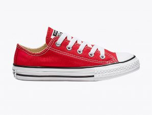 """Converse παιδικά sneakers """"Chuck Taylor All Star Low Top"""" – 3J236C – Κόκκινο"""