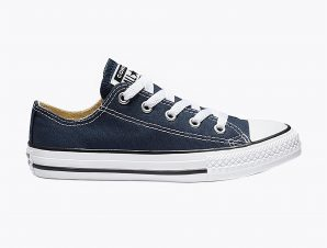 """Converse παιδικά sneakers """"Chuck Taylor All Star Low Top"""" – 3J237C – Μπλε Σκούρο"""
