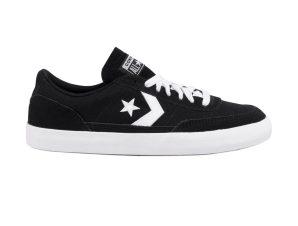 "Converse unisex sneakers με κορδόνια ""Net Star Classic Suede"" – 166868C – Μαύρο"