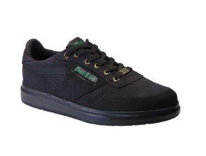 Black Green Gr200 Sneaker Υφασμάτινο Μαύρο
