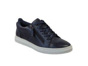 Tsimpolis Shoes A9889 Ανδρικό Sneaker Δερμάτινο Μπλέ