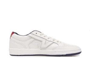 Vans Lowland Comfycush VN0A4TZY07D1 Ανδρικό Δερμάτινο Sneaker Λευκό