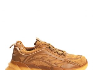 Rubber sole αθλητικά, camel